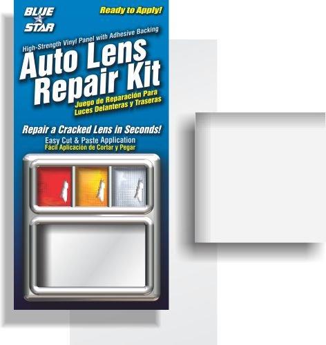 Blue Star Auto Reverse Light / Tail Light / Head Light Lens Repair Piece, Clear (SMOOTH) 4333257204