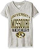 NCAA Missouri Tigers Children Girls V-Neck Short