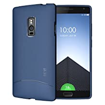 OnePlus 2 Case - TUDIA Ultra Slim Full-Matte ARCH TPU Bumper Protective Case for OnePlus Two (Blue)