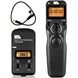 Pixel TW-283DC0 Wireless Timer Remote Control Shutter Release Single Continuous Delay Shooting for Nikon D800 D810 D700