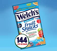 Welch's Fruit Snacks, Mixed Fruit & Berries 'n Cherries Bulk Variety Pack, Gluten Free, 0.9 oz Individual Single Serve Bags