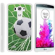 G3 Phone Case, Hard Shield Phone Case Hard Jacket with Unique Designs for LG G3 (D850, D851, D855, VS985, LS990, US990) by MINITURTLE - Soccer Goal