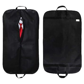 Bolsa de ropa, Bolsa de traje Laydran para trajes, Smokinges, Vestidos, Abrigos en viajes y en casa, Bolsas de almacenamiento portátiles a prueba de ...