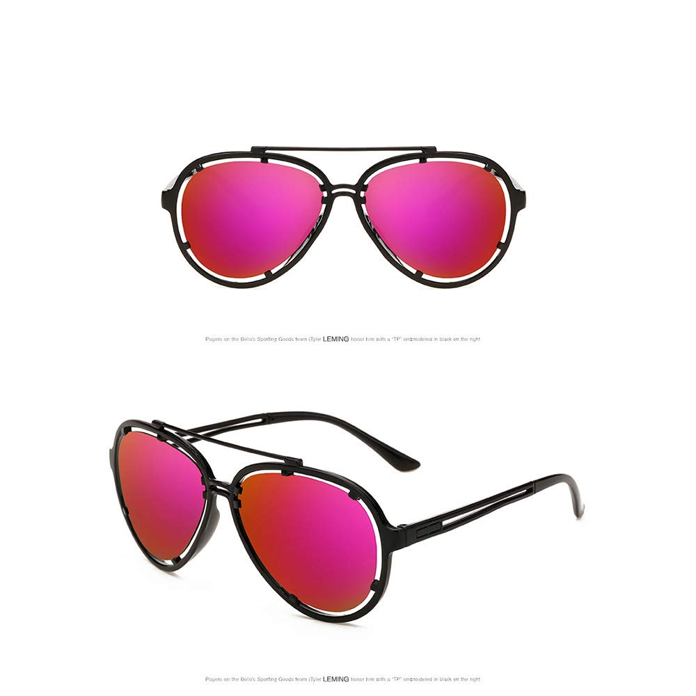 Outdoor Sunglasses Classic Simple Sun Glasses Polarized Retro Trend Anti-Ultraviolet Color Film by 2DXuixsh