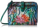 Anuschka 523 Notebook Bag,Zebra Garden,One Size