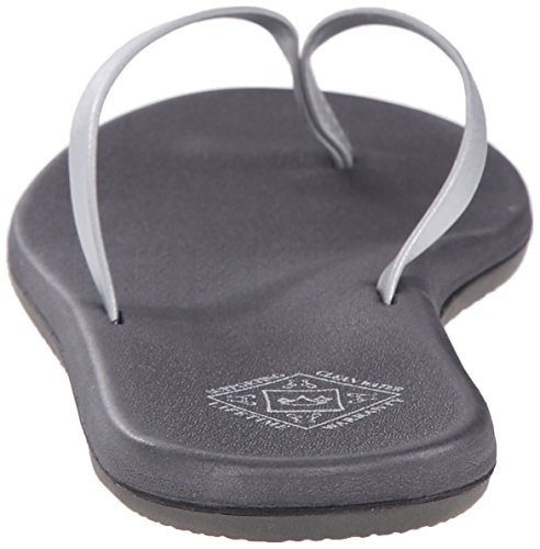 Nikki Sandal Silver Women's Flip Grey Freewaters Flop wI54T0