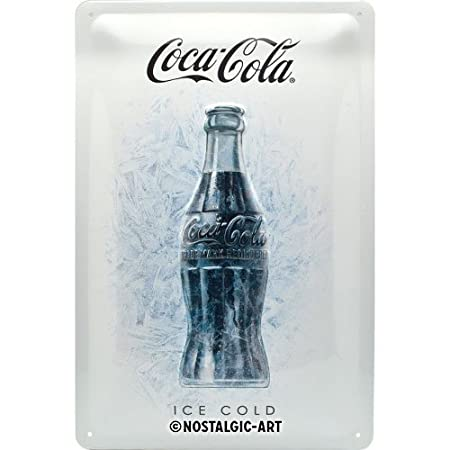Nostalgic-Art 22278 de Coca-Cola Ice White | Retro Cartel de ...