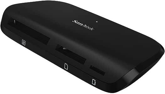 Sandisk Imagemate® PRO Multi Format Card Reader, Black (SDDR-489-G47)