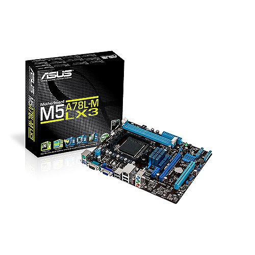 ASUS AMD AM3+ 760G 2*DDR3 8*USB2.0 GBE LAN Micro-ATX Motherboard, Black