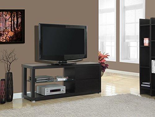 cappuccino hollow core tv console