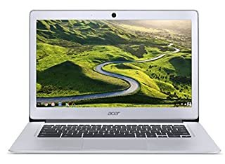 """Acer Chromebook with Mouse Bundle / 14"""" FHD IPS Display/ICQ N3160 / 4GB RAM/ 32GB eMMC/ Chrome/ Silver (B07P5T7Z4Q) 