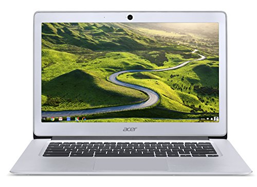"""Acer Chromebook with Mouse Bundle / 14"""" FHD IPS Display/ICQ N3160 / 4GB RAM/ 32GB eMMC/ Chrome/ Silver"""