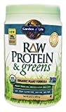 Garden of Life Greens and Protein Powder - Organic Raw Protein and Greens with Probiotics/Enzymes, Vegan, Gluten-Free, ...