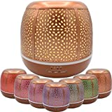 Golden Glade Essential Oil Diffuser, Ultrasonic Aromatherapy Humidifier, 500mL