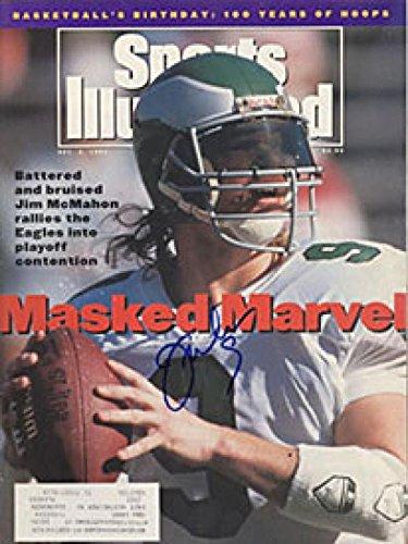 Jim McMahon Autographed December 2, 1991 Sports Illustrated Magazine Autographed NFL Magazines
