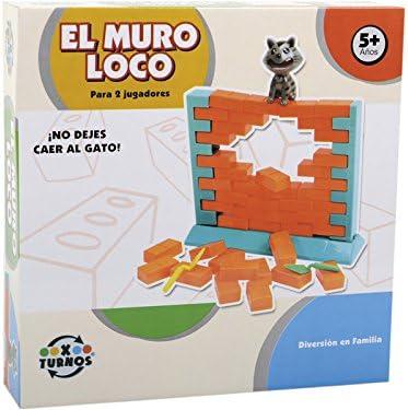 XTURNOS Juego el Muro Loco: Amazon.es: Juguetes y juegos