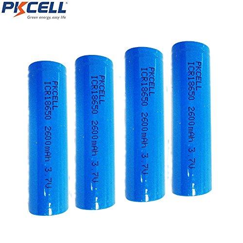3 18650 Li Rechargeable Torche Lampe Lithium Ion Pour 7 V Batteries wX8Pkn0O