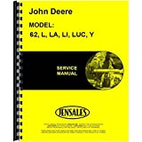 New Service Manual For John Deere L Tractor