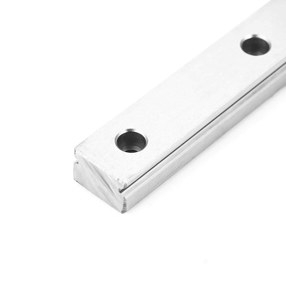 Guida lineare LML15H cuscinetto lineare guida in acciaio 400mm con Blocco scorrevole di estensione ineare blocco per stampante 3D CNC Partsblocco guida