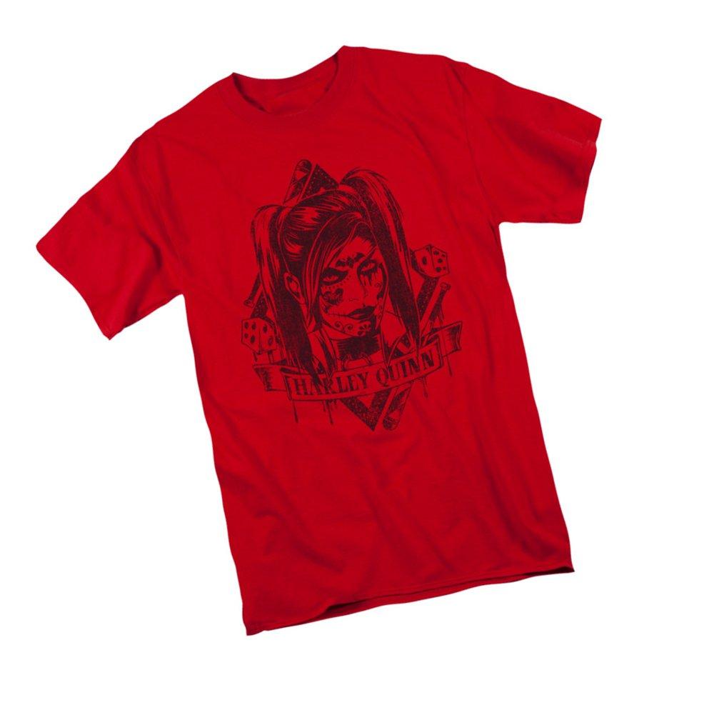 Harley Quinn Batman Arkham Knight Adult Tshirt