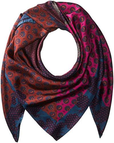Echo Silk Scarf - Echo Women's Foulard Silk Square Scarf Accessory, multi, One Size