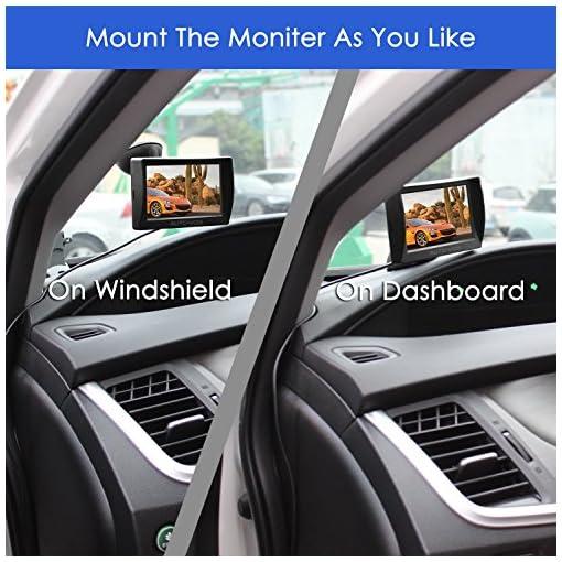 Rear View Backup Camera AUTO-VOX M1 Car Reversing System 4.3/'/' TFT LCD Monitor