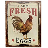 "pictures of outdoor kitchens Barnyard Designs Farm Fresh Organic Eggs Retro Vintage Tin Bar Sign Country Home Decor 10"" x 13"""