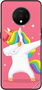 For OnePlus 7T Case Cover Unicorn Dab