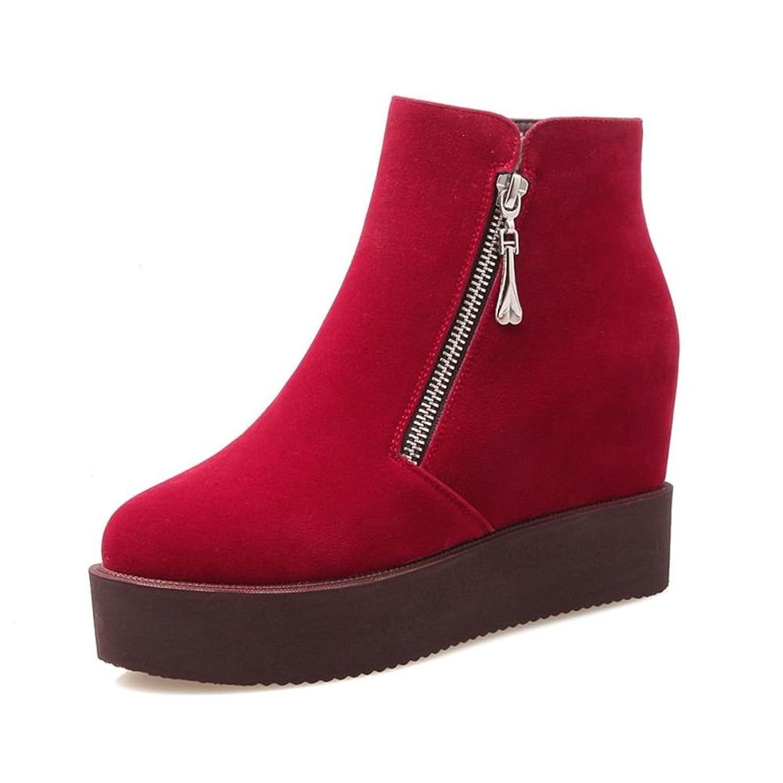 disfruta el precio de liquidación Mejor precio cómo llegar 85% de descuento botas de plataforma casual para el otoño ...