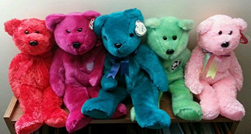 Buddies Teddy Bear Lot (each approximately 12 inches long) - Assorted NEW Bears with Tags - Great for Gifts and Party Favors - Each Lot Is Different ()