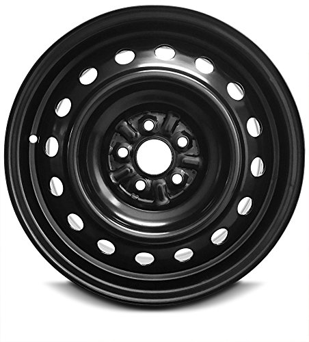 Road Ready Car Wheel For 2008-2014 Scion XD 16 Inch 5 Lug Black Steel Rim Fits R16 Tire - Exact OEM Replacement - Full-Size Spare (16in Xd Rims)