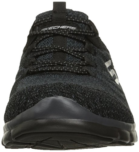 Skechers Gratis Sleek Active Donna Chic Nero Scarpe and Sportive ZZSrq6wx