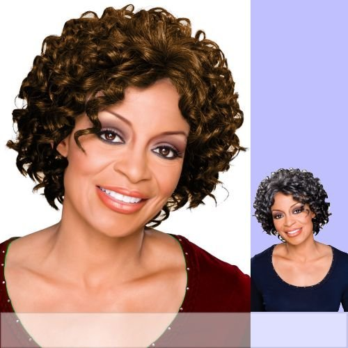 Foxy Silver (Meredith) - Heat Resistant Fiber Full Wig in 3T51