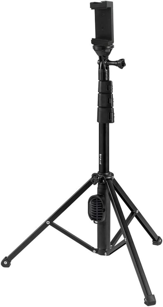 Color : Color2 Asm Bluetooth Shutter Remote Selfie Stick Tripod Mount Holder for Vlogging Live Broadcast YAM