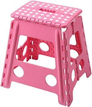 Large Step Stool Multi Purpose Plastic Folding Home Kitchen Easy Storage