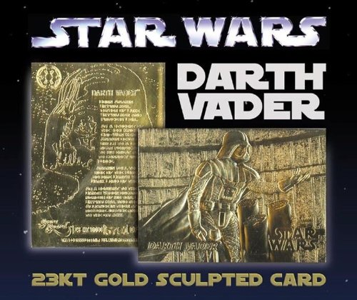 R 23KT Gold Card Sculptured NM-MT Limited Edition #/10,000 ()