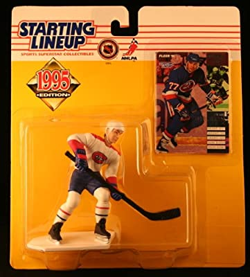 PIERRE TURGEON / MONTREAL CANADIENS 1995 NHL Starting Lineup Action Figure & Exclusive NHL Collector Trading Card