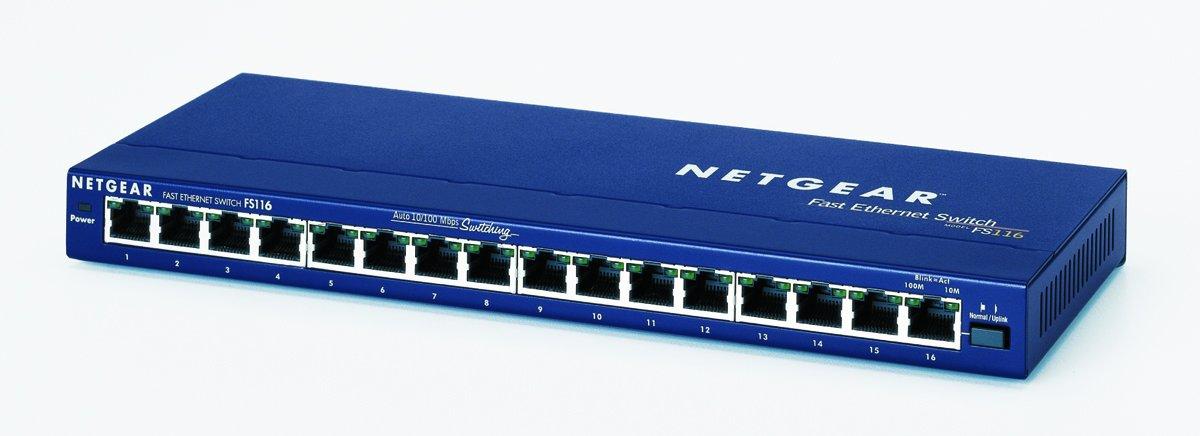 2081992 - Netgear ProSafe FS116 Ethernet Switch