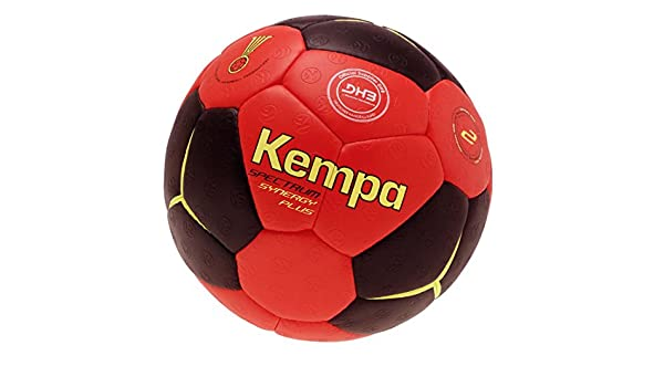Kempa – Balón de fútbol Negro/Rojo Tamaño 1 + Bomba: Amazon.es ...