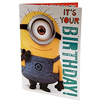 Amazoncom Despicable Me Minion Your Perfect Birthday Gift Is