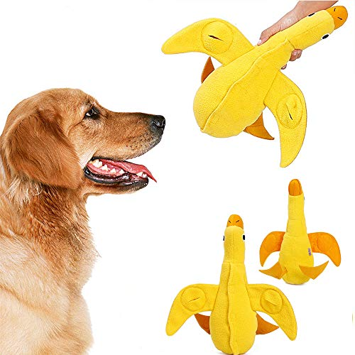 ZEEY Duck Toy Training Play Sniffing Treat Food Dispensing Toys for Small Medium Large Dogs Durable Chew