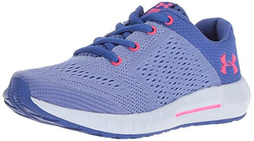 Under Armour Girls' Pre School Pursuit Prism Sneaker, Jupiter (500)/Talc Blue, 1
