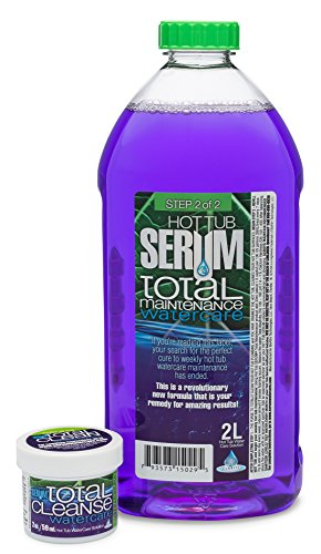 (Hot Tub Serum Maintenance & Conditioner Watercare Kit – Includes 2 oz Cleanse)