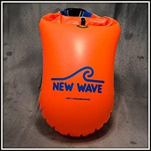 Amazon.com : New Wave Swim Buoy for Open Water Swimmers