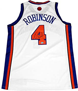 Nate Robinson New York Knicks Autogaphed Authentic Home Jersey   Amazon.co.uk  Sports   Outdoors 0a043ca4d
