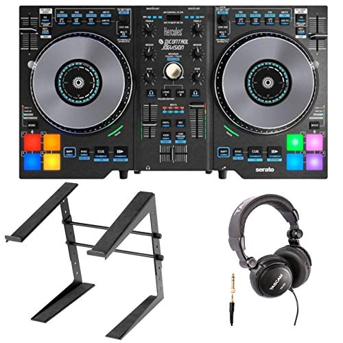 - Hercules DJControl Jogvision with Tascam Headphones and Stand