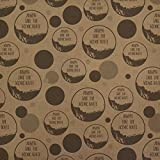 Always Take the Scenic Route Hiking Travel Premium Kraft Gift Wrap Wrapping Paper Roll