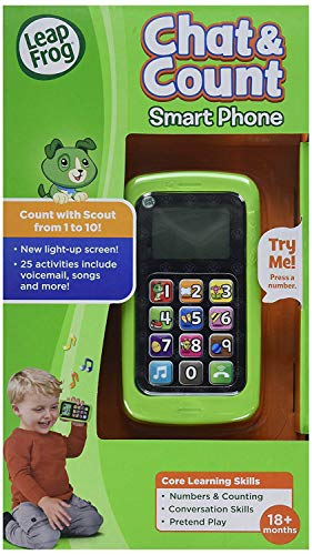 LeapFrog Chat and Count Smart Phone, Scout, Assorted Colors by LeapFrog (Image #5)