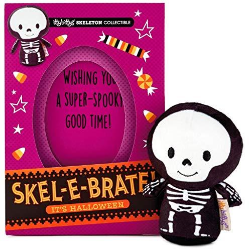 (Hallmark itty bittys Skel-e-brate! Halloween Card With Stuffed)