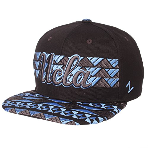 Ucla Bruins Ncaa Pattern - ZHATS NCAA UCLA Bruins Men's Kolohe Snapback Hat, Adjustable, Black/Team Color
